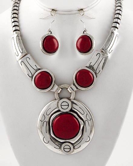 Red Jewelry - Round